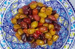 Olives background Stock Images