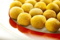 Olives bourrées Images libres de droits