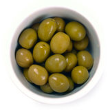 Olives in a bowl Stock Images
