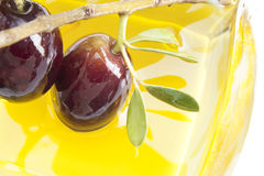 Olives brillantes Photo libre de droits