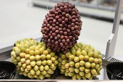Olives bulk. Various types of olives in bulk store sale royalty free stock photo