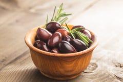 Olives calamata Royalty Free Stock Images