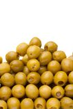 Olives close-up Stock Images