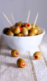 Olives, close-up Royalty Free Stock Image