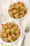 Olives, close-up Stock Images