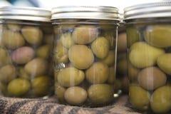 olives de saumure images libres de droits