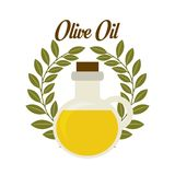 Olives design. Over white background, vector illustration Stock Photos