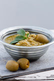 Olives Dip Stock Photos