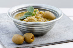 Olives Dip Stock Image