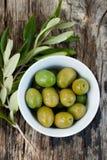 Olives fraîches Photo stock