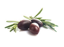 Olives isolated Stock Images