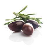 Olives isolated Royalty Free Stock Image
