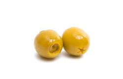 olives isolated Stock Photography