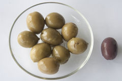 Olives its good to be different Royalty Free Stock Photo