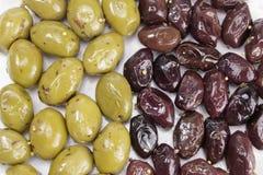 Olives marinées Image stock