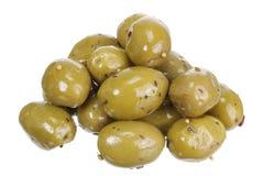 Olives marinées Photos libres de droits