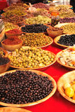 Olives at the market Stock Photography