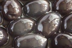 Olives noires Image stock