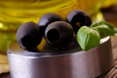 Olives noires photos libres de droits