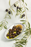 Olives noires Photo stock