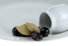 Olives noires, beauté noire Photo libre de droits