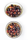 Olives in oil 011 Stock Images