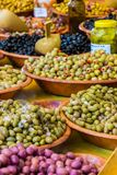 Olives, Oil, Green, Food, Eat Royalty Free Stock Image