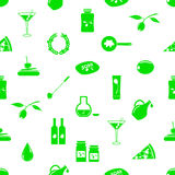 Olives and olives product theme icons seamless pattern eps10 Stock Photo
