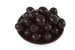 Olives On Plate Royalty Free Stock Image