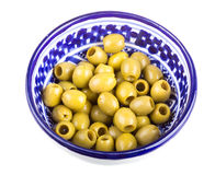Olives over white background Stock Photo