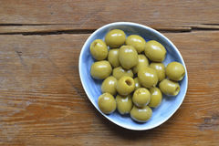 Olives plate Royalty Free Stock Photo