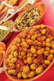 Olives for sale Royalty Free Stock Photography
