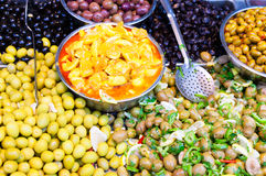 Olives for sale Royalty Free Stock Image