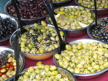 Olives selection Royalty Free Stock Photo