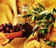 Olives still life Stock Photos