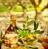 Olives still life Royalty Free Stock Photos