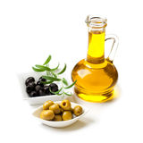Olives still life, isolated Stock Photography