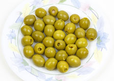 Olives stuffed with anchovies Royalty Free Stock Image