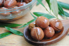 Olives on the table Royalty Free Stock Images