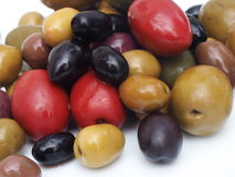 Olives Varieties Royalty Free Stock Photo