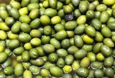 Olives vertes Photo stock