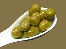 Olives vertes Images stock