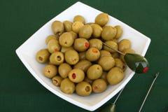 olivgrön Arkivfoto