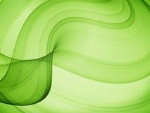 Olivgrüne Kurven Stockfotografie