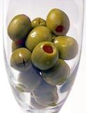 Olivgrüne Reflexionen lizenzfreies stockbild