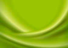 Olivgrüner abstrakter Wellen-Hintergrund Lizenzfreie Stockfotografie
