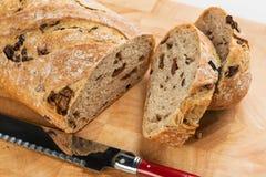 Olivgrünes Brot Stockbild