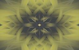 Olivgr?nes Hintergrundkunst-Illustrationsmuster futuristisch stock abbildung