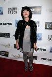 """Olivia Barash en el partido del abrigo """"del crítico"""", recibido por Lucky Tiger Films y la época de Cinerma, la estación, hotel de  imagen de archivo"""