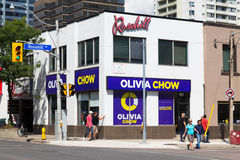 Olivia Chow Headquarters - Toronto Immagini Stock